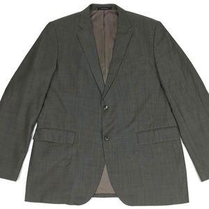Hugo Boss Wool Suit Blazer Men's Size 44R Gray Sz